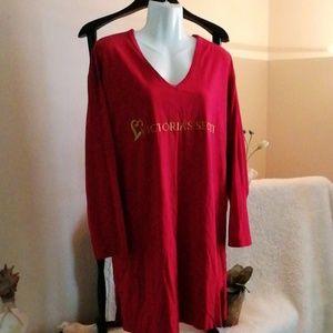 Vintage Victoria's Secret red ls gown